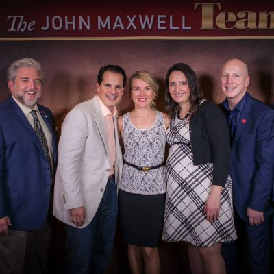 Alina with John Maxwell Leadership Team
